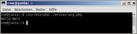 PHP Ausgabe