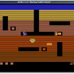 "Das Spiel ""Dig Dug"" im Atari2600-Emulator."