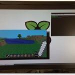 Minecraft Pi Edition unter Raspbian ausgeführt.